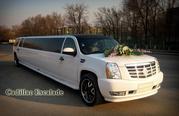 Аренда лимузина Cadillac Escalade белого цвета