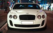Bentley Continental Flying Spur с водителем