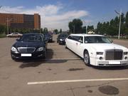 Лимузин Chrysler 300C для свадьбы в Астане.