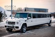 Лимузин Mercedes-Benz Gelandewagen G63 AMG для свадьбы в Астане.
