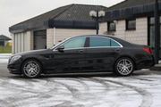 Mercedes-Benz S-klass W222 с водителем. Астана.