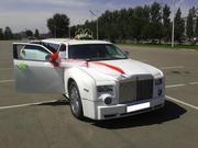 Лимузин Chrysler 300C на выписку из роддома. Астана.