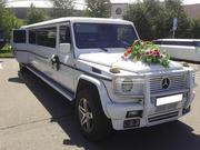Лимузин Mercedes-Benz Gelandewagen на выписку из роддома. Астана.